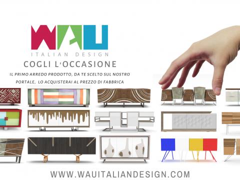 WAU, al via la produzione e la vendita dei prodotti di design in tutto il mondo: news 23/02